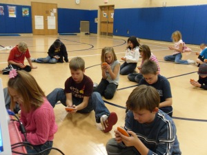 Kids in PE